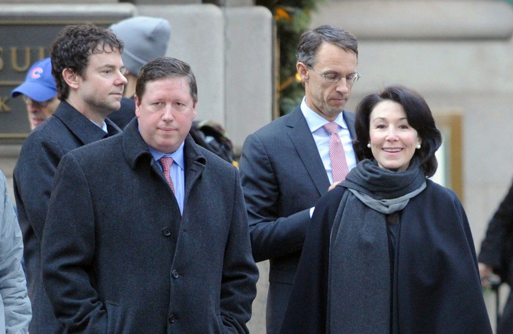 NEW YORK, NY - DECEMBER 14:  Oracle CEO Safra Catz attends President-Elect Trump's Roundtable Tech Industry Summit on December 14, 2016 in New York City.  (Photo by Brad Barket/Getty Images for Oracle)